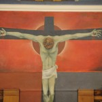 Transformation Scene - Christ crucified