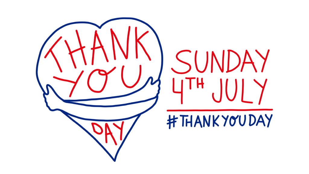 Thank You Day Sunday 4th July 2021